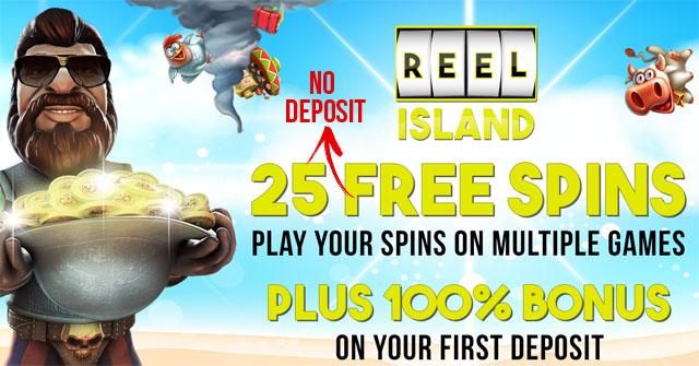 25-No-Deposit-Free-Spins-Reel-island-casino