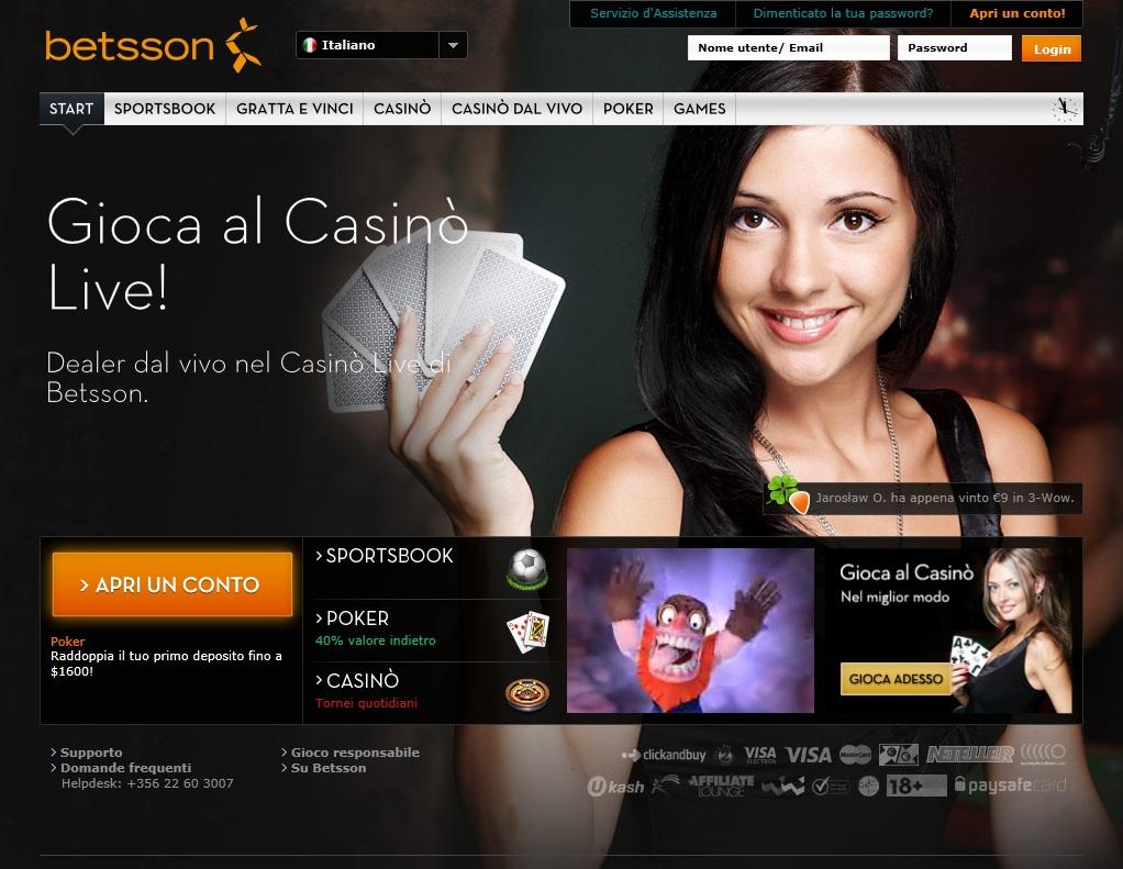 betsson_sito