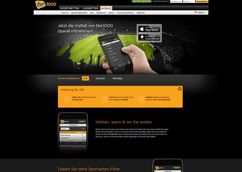 Bet3000 App Download
